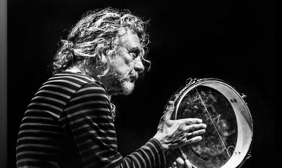 English singer and songwriter Robert Plant in concert, 20th February 2012. (Photo by Judith Burrows/Getty Images)