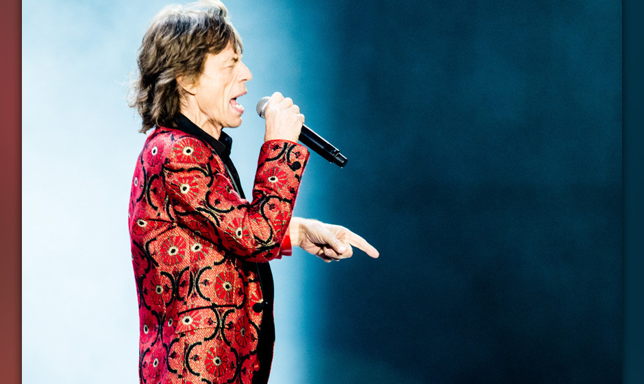 Geheimer Gig: The Rolling Stones live im Fonda Theater in Los Angeles.