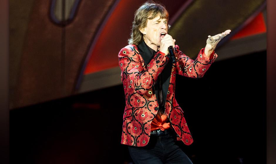 Große Einnahmen durch Tourneen: The Rolling Stones