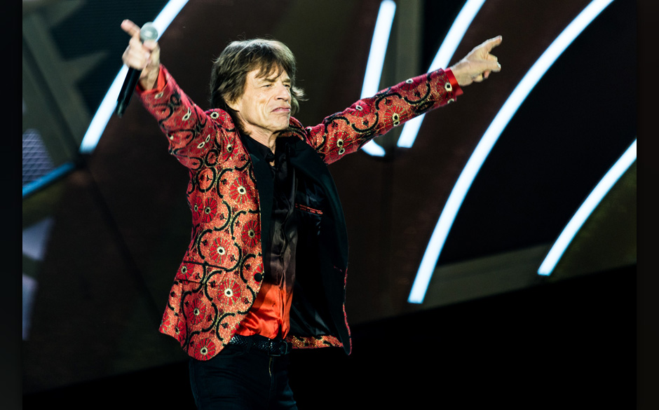 The Rolling Stones performten 'Hang On Sloopy' - das erste Mal seit 49 Jahren.