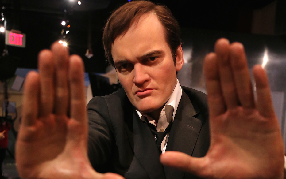 wax figure is displayed at Madame Tussauds on January 6, 2014 in Hollywood, California.