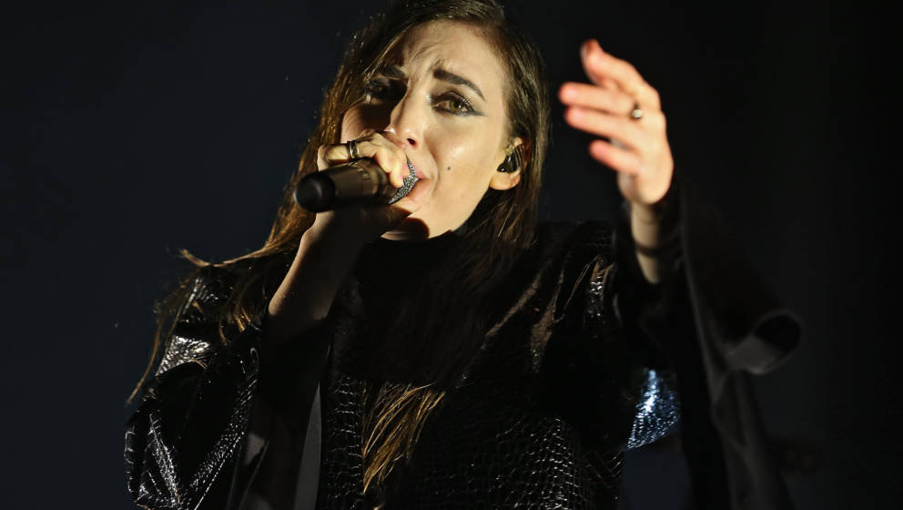 NEUHAUSEN, GERMANY - JUNE 20:  Lykke Li performs on day 1at the Southside Festival 2014 on June 20, 2014 in Neuhausen, German