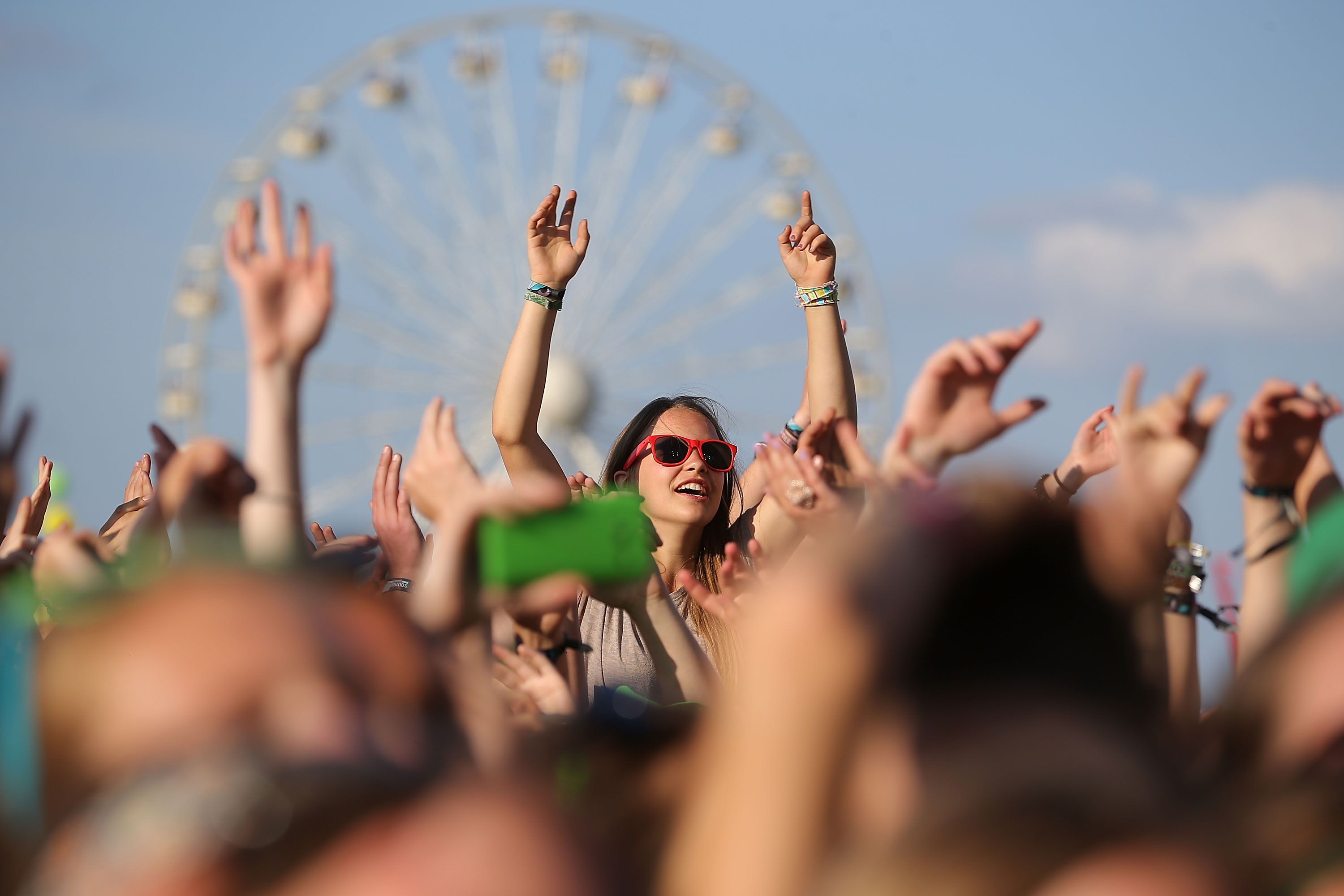 NEUHAUSEN, GERMANY - JUNE 20:  General view of day 1 at the Southside Festival 2014 on June 20, 2014 in Neuhausen, Germany.