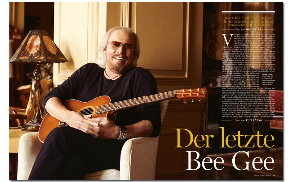 Barry Gibb: Der letzte Bee Gee Barry Gibb wirft einen Blick zurück auf die Hits, die Konflikte und die Tragik eines Lebens a