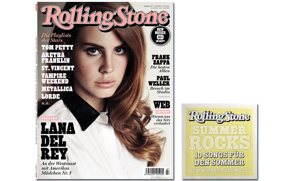 Die Juli-Ausgabe des ROLLING STONE ist da - inklusive New-Noises-CD 'Summer Rocks'