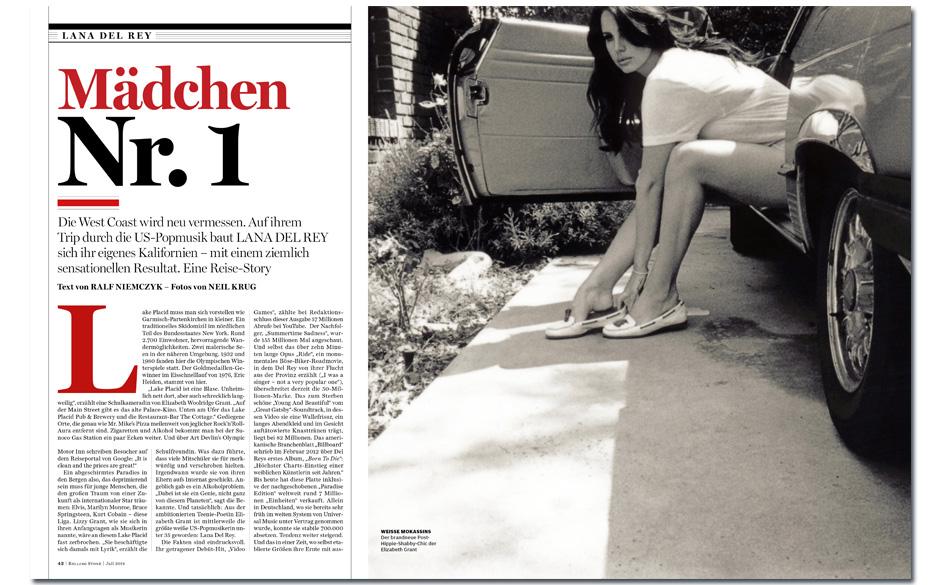 Lana Del Rey: Mädchen Nr. 1 - Von Los Angeles nach San Francisco mit dem All American Girl unserer Tage