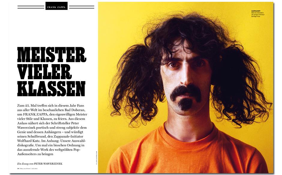 Frank Zappa: Hommage an einen Freak - Zum 25. Mal treffen sich in diesem Jahr Fans aus aller Welt bei der Zappanale in Bad Do