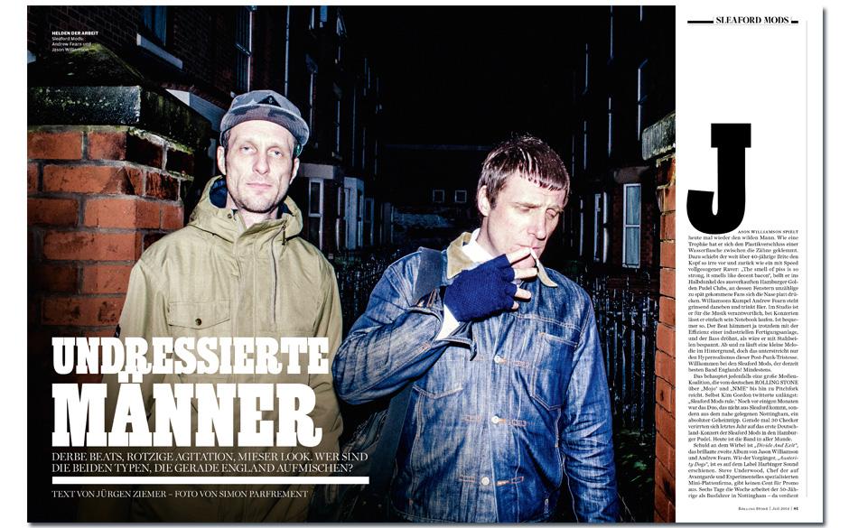 Sleaford-Mods: Die neuen Wilden Ein lautstark pöbelndes Duo aus Nottingham mischt England auf. Wie gut sind die Polit-Rap-R�