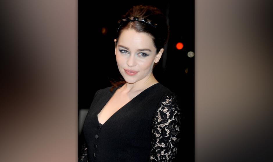 NEW YORK, NY - MAY 04:  Emilia Clarke seen on May 4, 2013 in New York City.  (Photo by DVT/Star Max/FilmMagic)