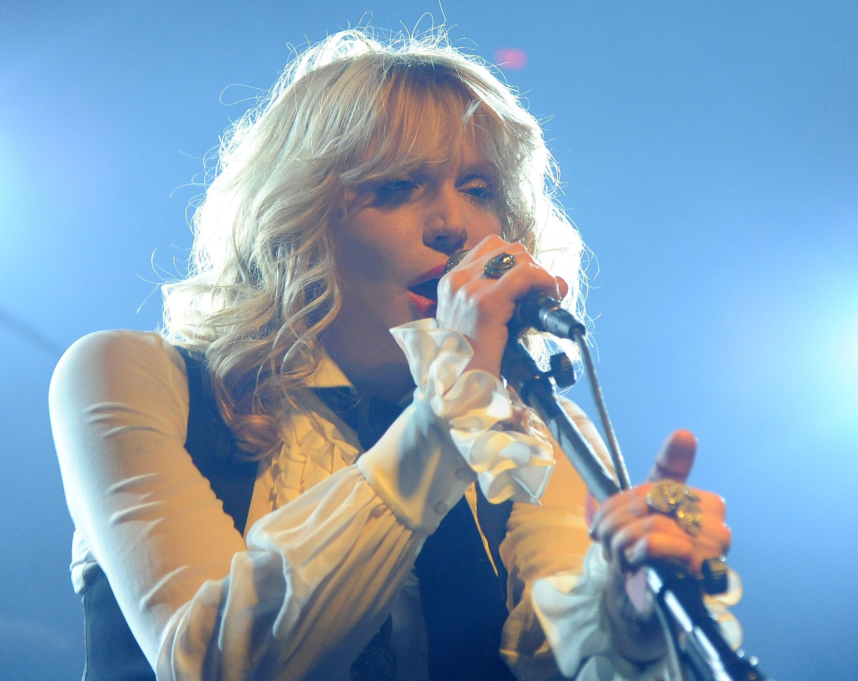Courtney Love macht 'Creep' zu ihrem Song