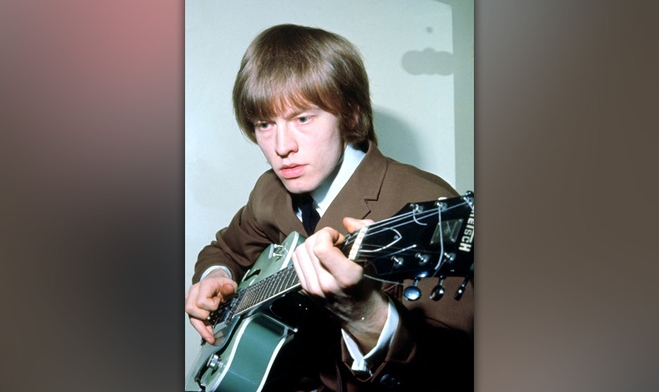 Portrait of Rolling Stones guitarist Brian Jones photographed in the mid 1960's.;  (Photo by King Collection/Photoshot/Getty