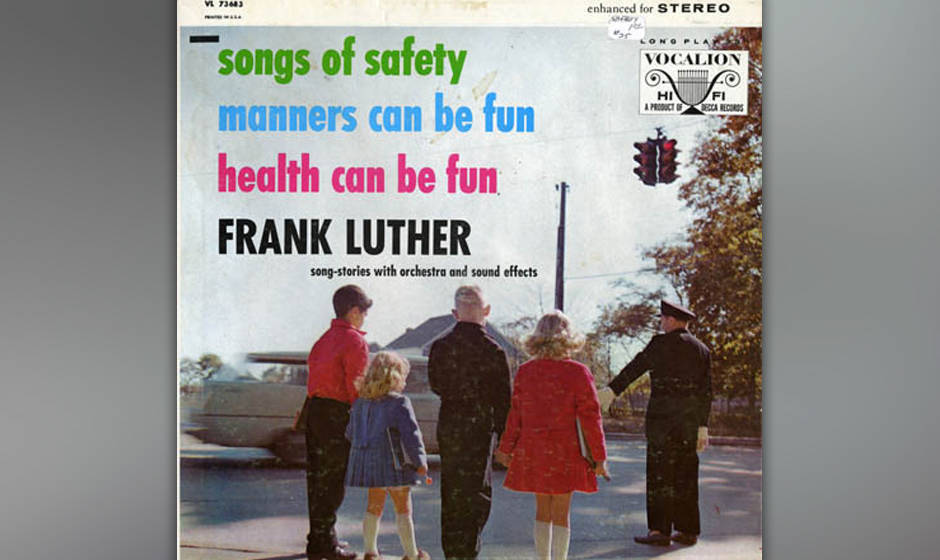 Frank Luther: 'Songs of Safety', 'Manners Can Be Fun', 'Health Can Be Fun'
