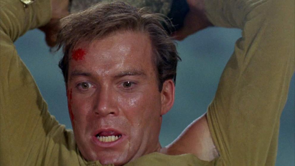 LOS ANGELES - SEPTEMBER 22: William Shatner as Captain James T. Kirk in the STAR TREK episode, 'Where No Man Has Gone Before.
