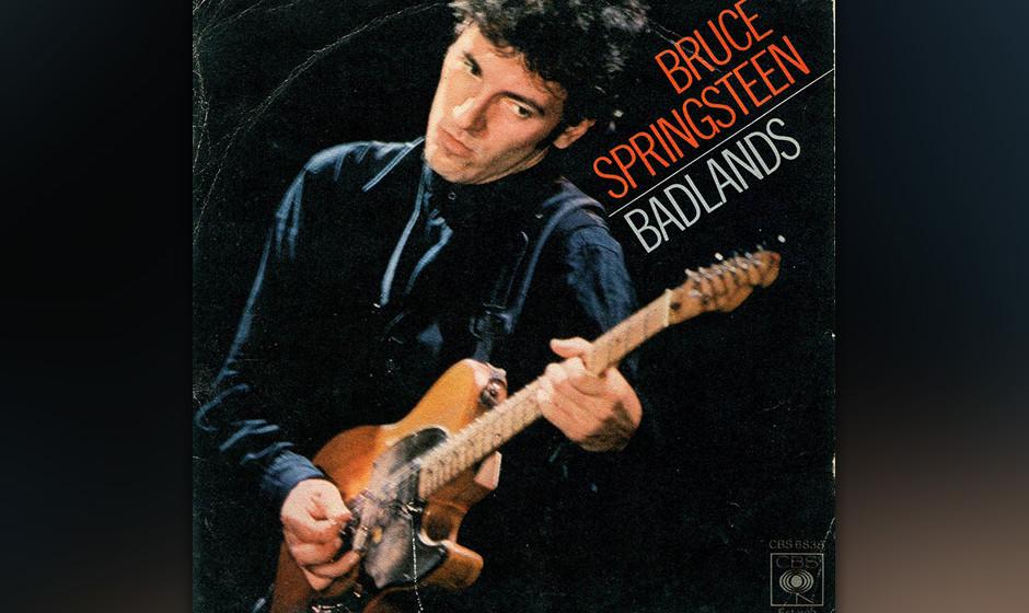 """14. 'Badlands' (1978)  E-Street-Sound in Reinkultur: """"Badlands"""" kommt mit seiner mitsingtauglichen Melodie und seinem sta"""