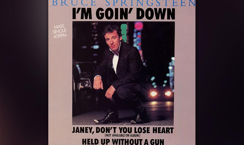 29. 'Janey Don't You Lose Heart' (1983)  Ein wunderbarer Pop-Song, den Springsteen für 'Born In The U.S.A.' aufnahm und der