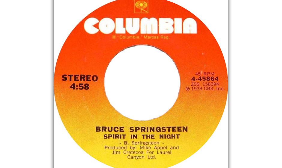32. 'Spirit In The Night' (1973)  Eine Epiphanie und Springsteens erstes Stück über die Magie der Nacht; viele Jahre ein H�