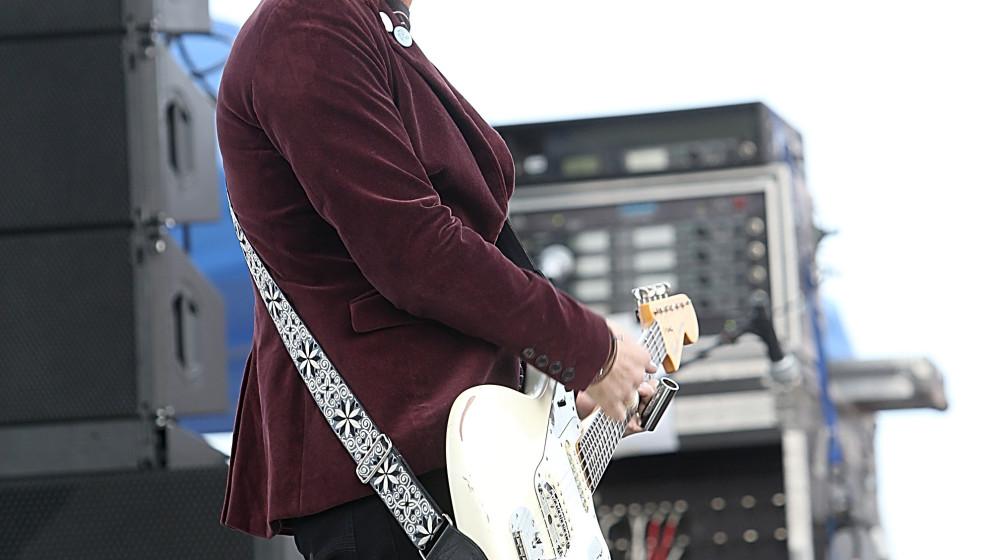 AUSTIN, TX - NOVEMBER 08:  Johnny Marr performs during Fun Fun Fun Festival at Auditorium Shores on November 8, 2013 in Austi