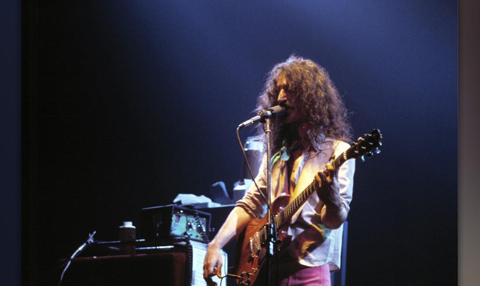 DENMARK - JANUARY 01:  Photo of Frank ZAPPA; Frank Zappa, Denmark  (Photo by Jorgen Angel/Redferns)