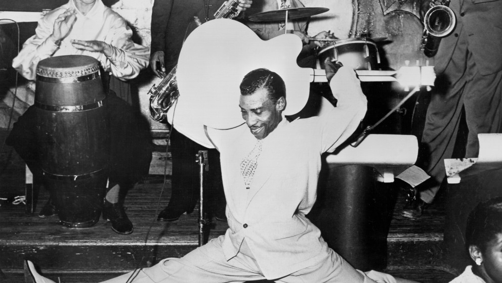 UNSPECIFIED - CIRCA 1970:  Photo of T-Bone Walker  Photo by Michael Ochs Archives/Getty Images
