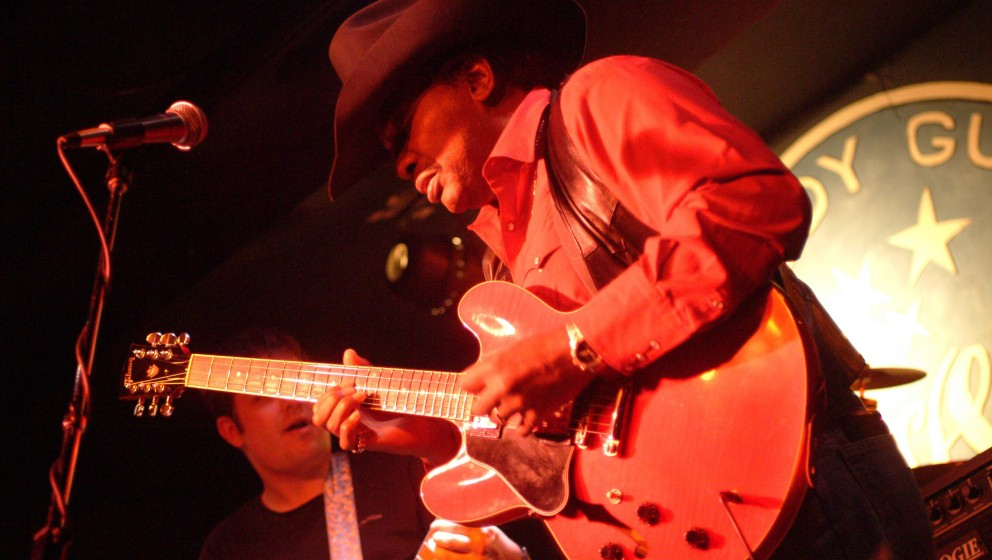 UNSPECIFIED - CIRCA 2000:  Photo of Otis Rush  (Photo by James Fraher/Michael Ochs Archives/Getty Images)
