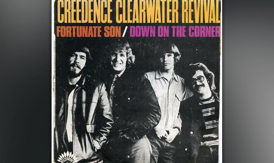 """99. Creedence Clearwater Revival  - Fortunate Son """"Fortunate Son"""" ist John Fogertys Song für den Mann auf der Straße �"""