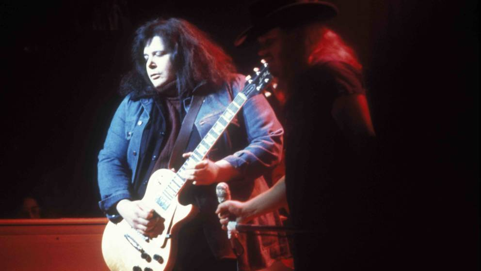 UNITED STATES - JANUARY 01:  Photo of Leslie WEST and MOUNTAIN; Leslie West  (Photo by Richard E. Aaron/Redferns)
