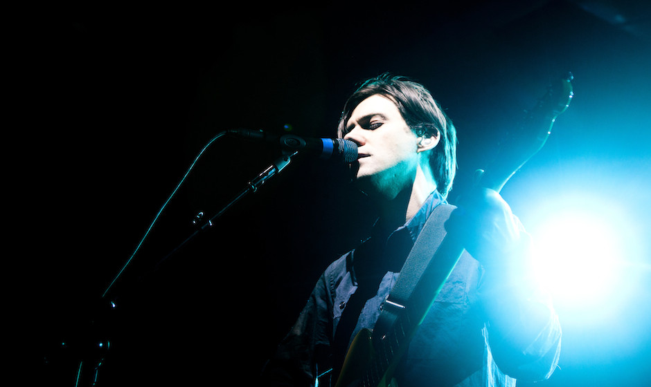 LONDON, UNITED KINGDOM - FEBRUARY 14: Conor Oberst of Bright Eyes performs on stage at Scala on February 14, 2011 in London,