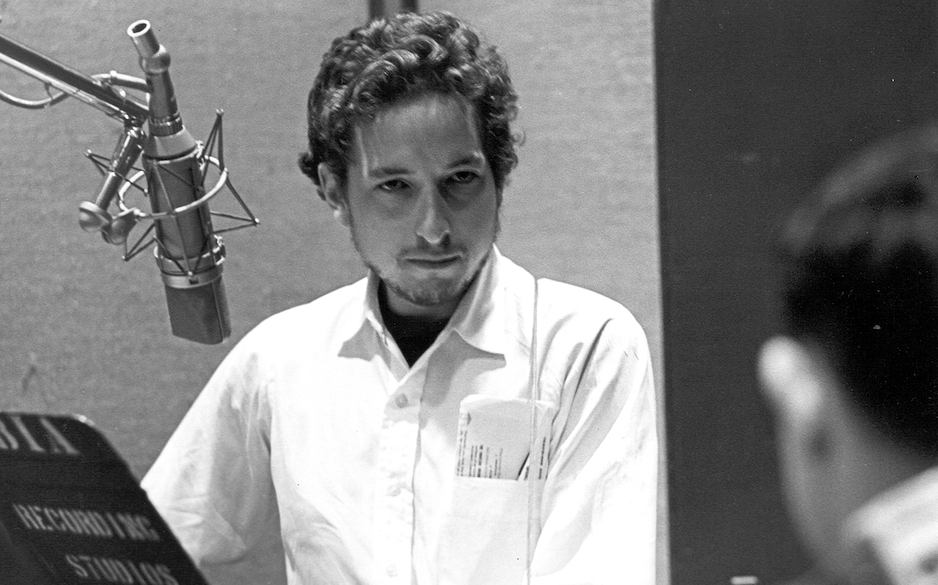 NASHVILLE, TN - MAY 3: Bob Dylan recording his album 'Self Portrait' on May 3, 1969 in Nashville, Tennessee. (Photo by Michae