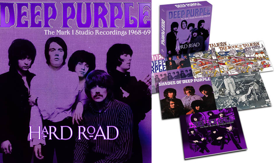 Deep Purple 'Hard Road: The Mark 1 Studio Recordings 1968-69'