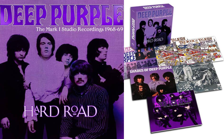 Deep Purple 'Hard Road: The Mark 1 Studio Recordings 1968-69'