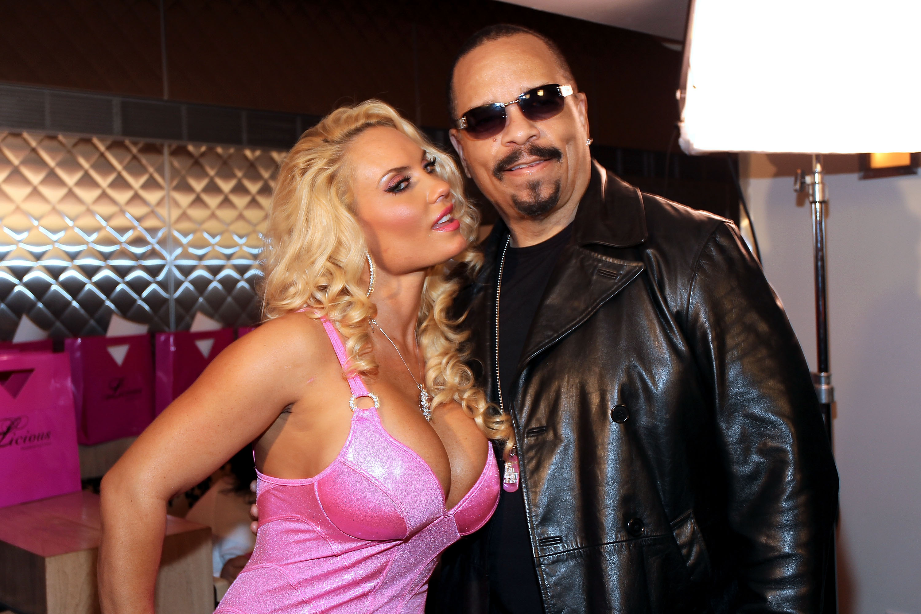NEW YORK, NY - MAY 22:  Coco and Ice-T attend the Coco Licious Clothing launch party at the Grace Hotel on May 22, 2011 in Ne
