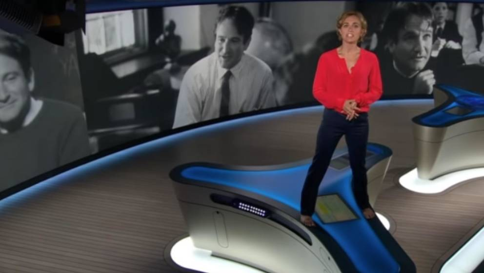 """""""Tagesthemen""""-Sprecherin Caren Miosga verneigt sich vor Robin Williams"""