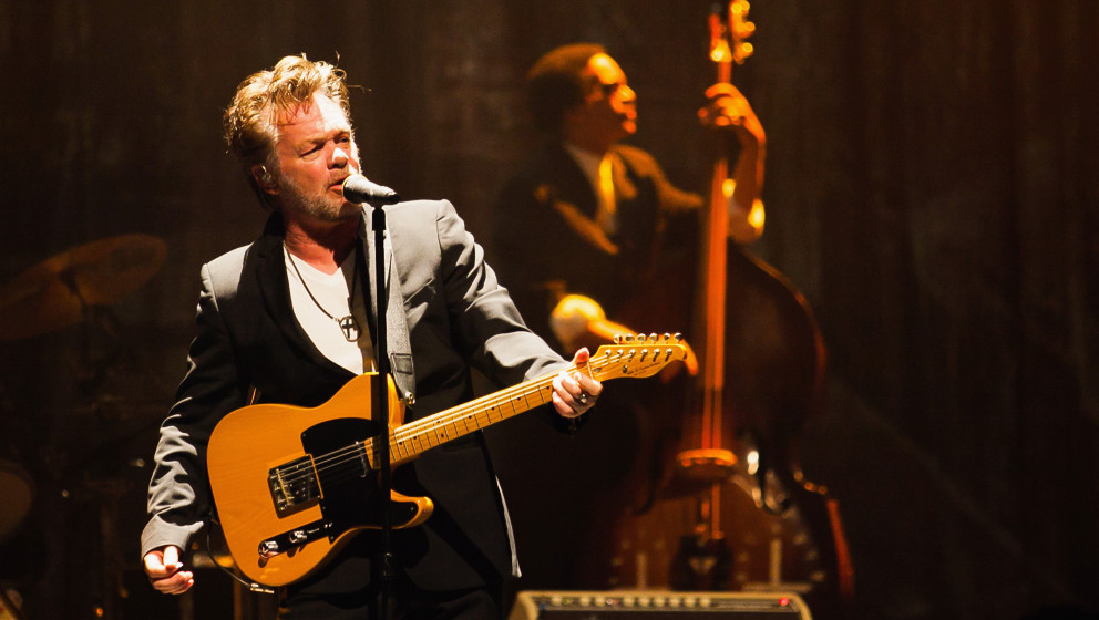 AUSTIN, TX - APRIL 11:  John Mellencamp performs onstage at ACL Live on April 11, 2013 in Austin, Texas.  (Photo by Dustin Fi