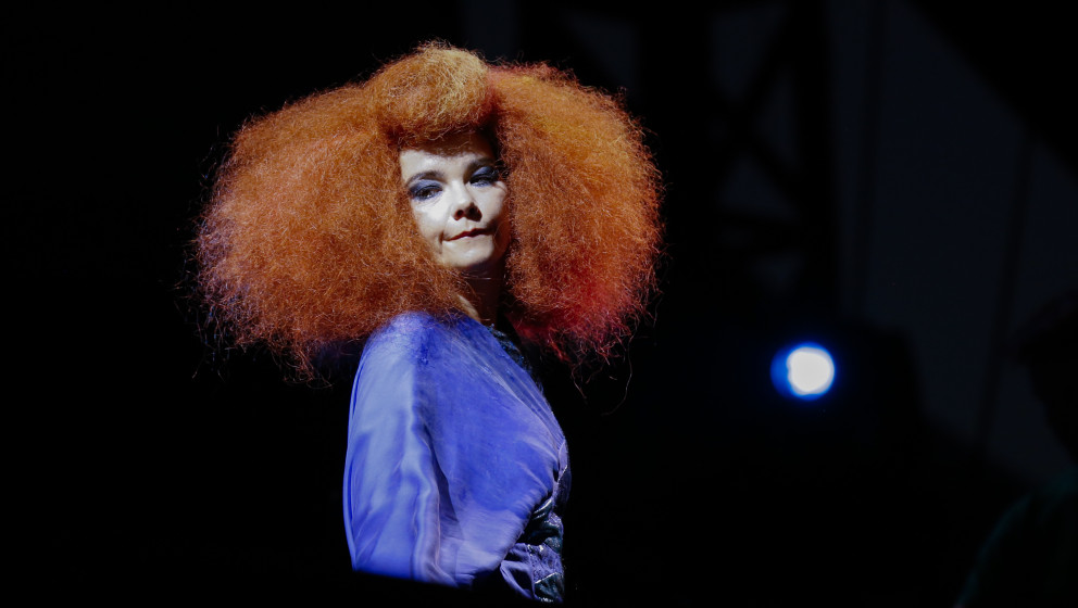OTTAWA, ON - JULY 13:  Bjork performs on Day 9 of the RBC Royal Bank Bluesfest on July 13, 2013 in Ottawa, Canada.  (Photo by
