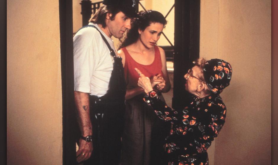 Green Card - Scheinehe mit Hindernissen (Green Card, USA/FR/AUS 1990, Regie: Peter Weir) Andie MacDowell, Gerard Depardieu/