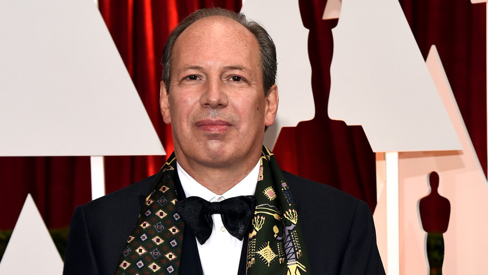 HOLLYWOOD, CA - FEBRUARY 22:  Composer Hans Zimmer attends the 87th Annual Academy Awards at Hollywood & Highland Center