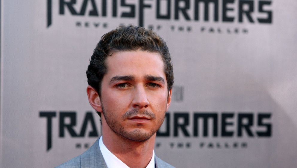 WESTWOOD, LOS ANGELES, CA - JUNE 22:  Actor Shia LaBeouf arrives at the premiere Of DreamWorks 'Transformers: Revenge Of The