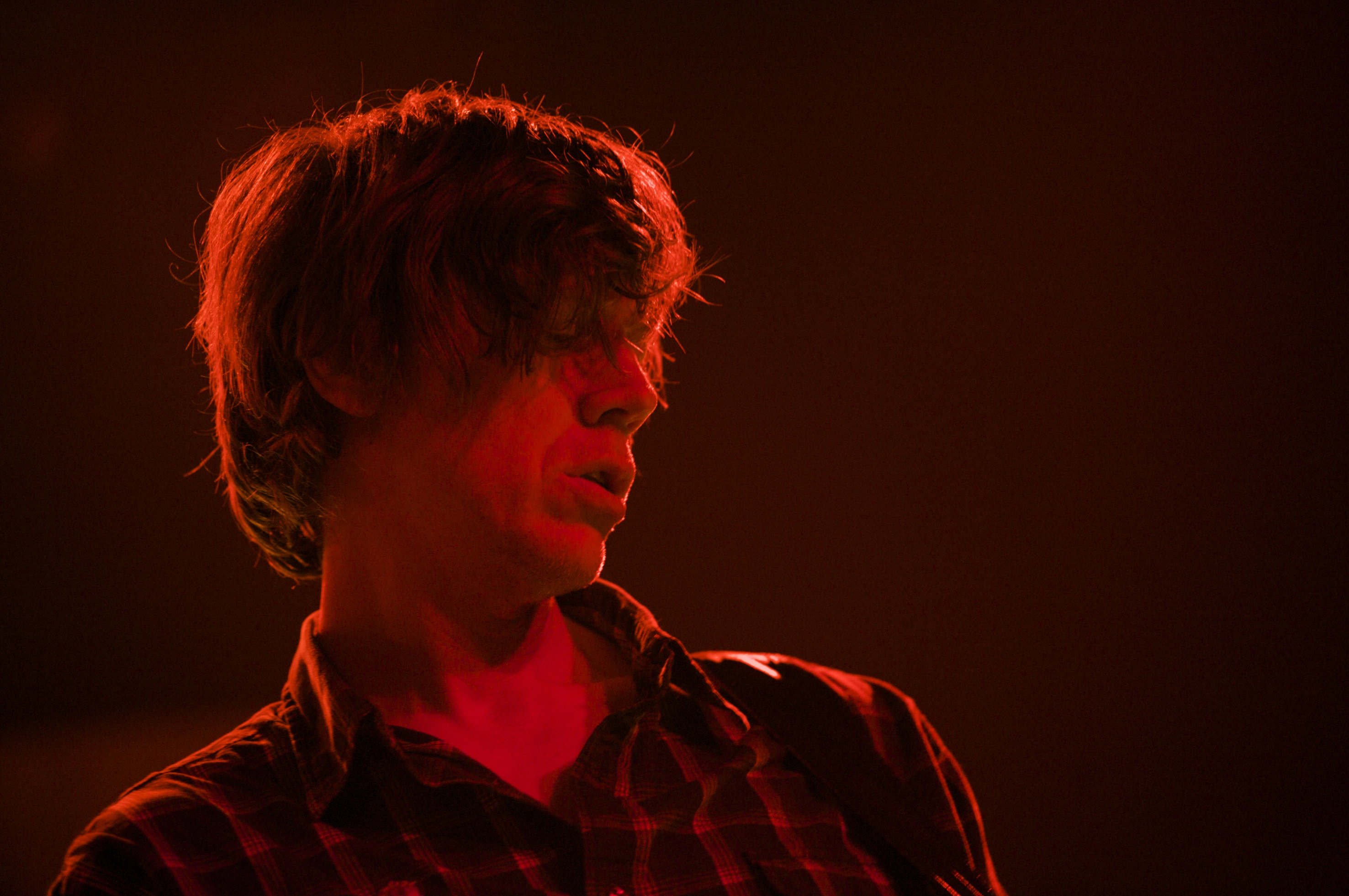 MADRID, SPAIN - APRIL 19:  Thurston Moore of Sonic Youth perfoms on stage at La Riviera on April 19, 2010 in Madrid, Spain.