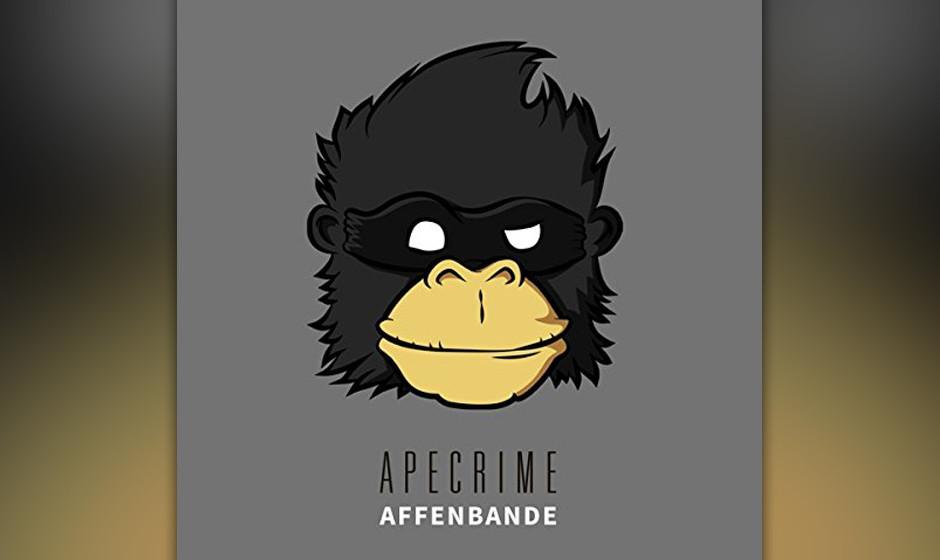 ...Witzig wird es mit Apecrime und ihrer 'Affenbande' auf Platz drei...