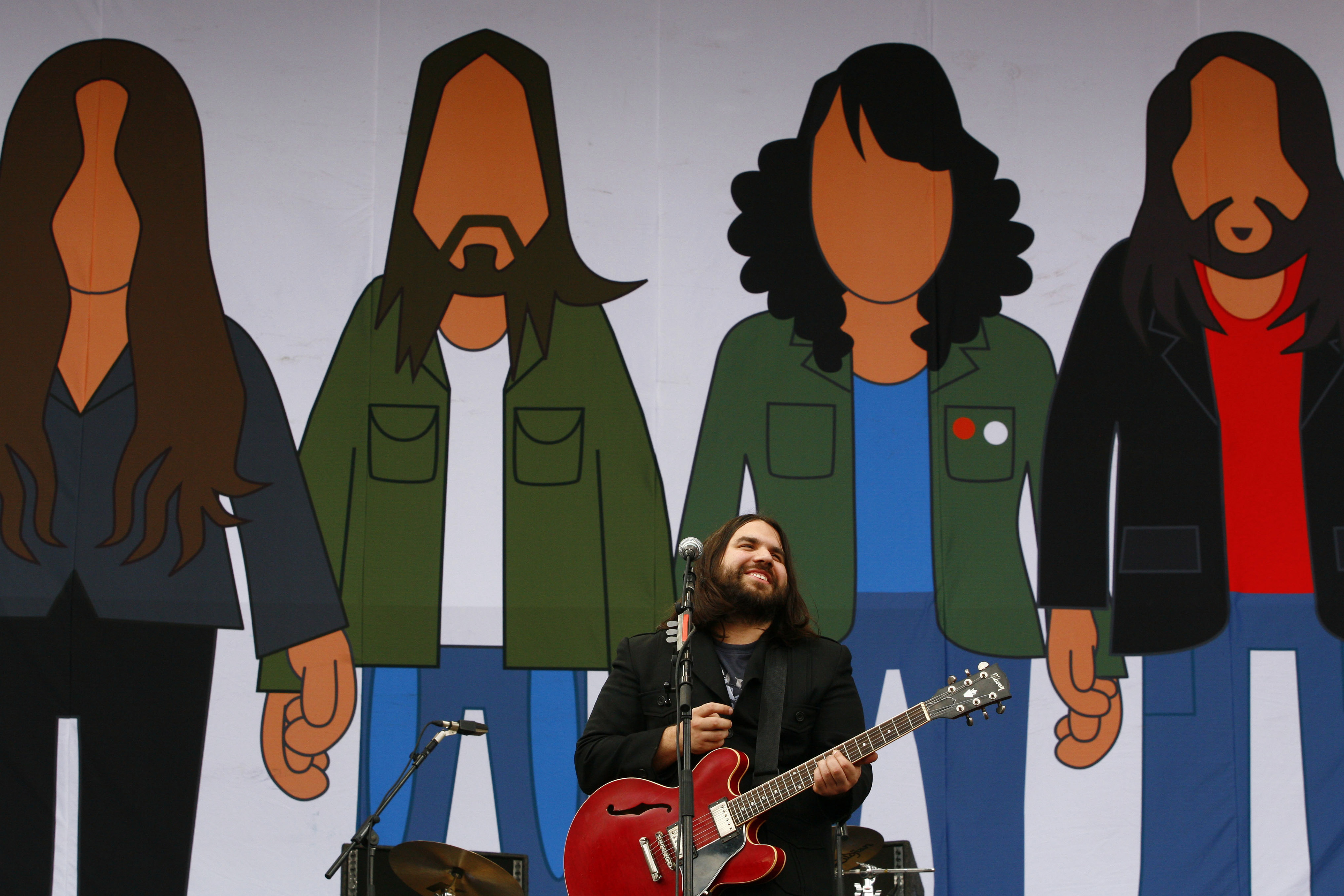 Magic Numbers, V Festival, 2006, Chelmsford. (Photo by: PYMCA/UIG via Getty Images)