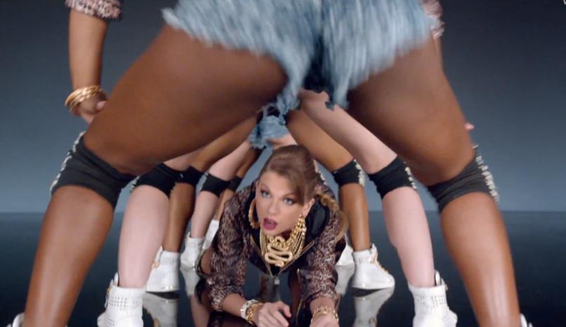 Taylor Swift im Video zu 'Shake It Off'