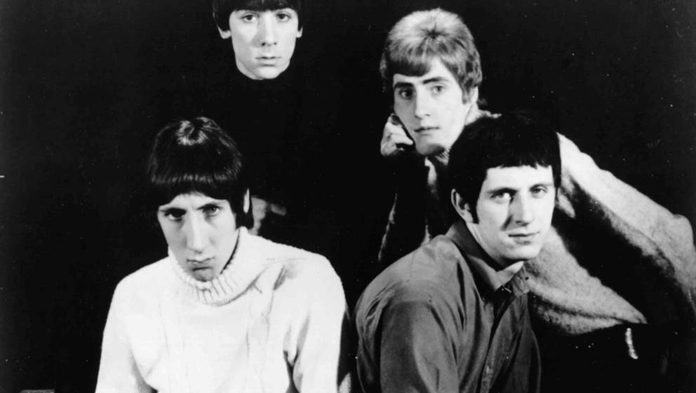 1965: Pete Townshend, Keith Moon, Roger Daltrey and John Entwistle of the rock and roll band 'The Who' pose for a portrait in