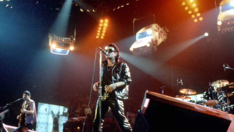 UNSPECIFIED - CIRCA 1992:  Photo of U2  (Photo by Anna Krajec/Michael Ochs Archives/Getty Images)