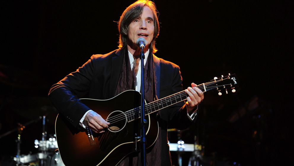 NEW YORK, NY - OCTOBER 24:  Jackson Browne performs at the We Are Family Foundation 10 Year Celebration Gala at the Hammerste