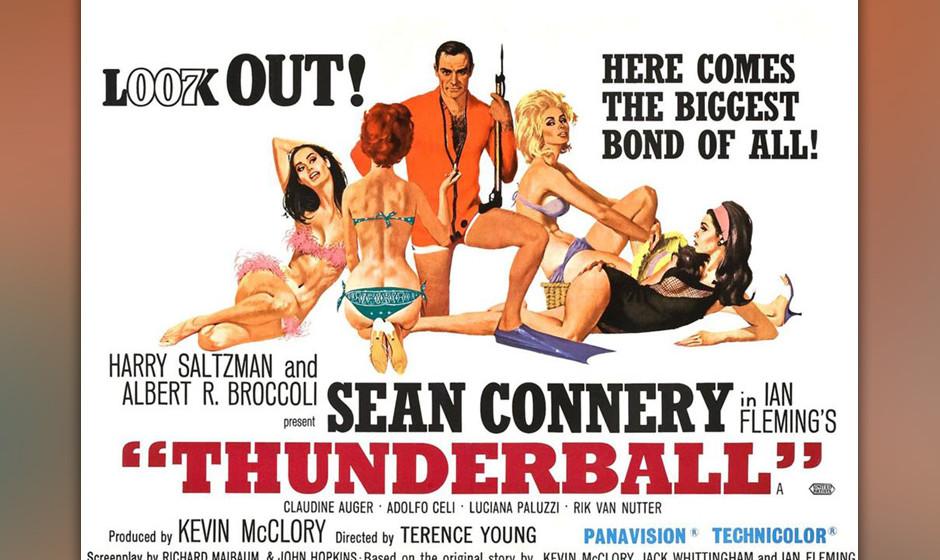 11. Tom Jones: 'Thunderball'. 'He Always Runs, While Others Walk' –der erste und bis heute einzige Bond-Song, bei dem der
