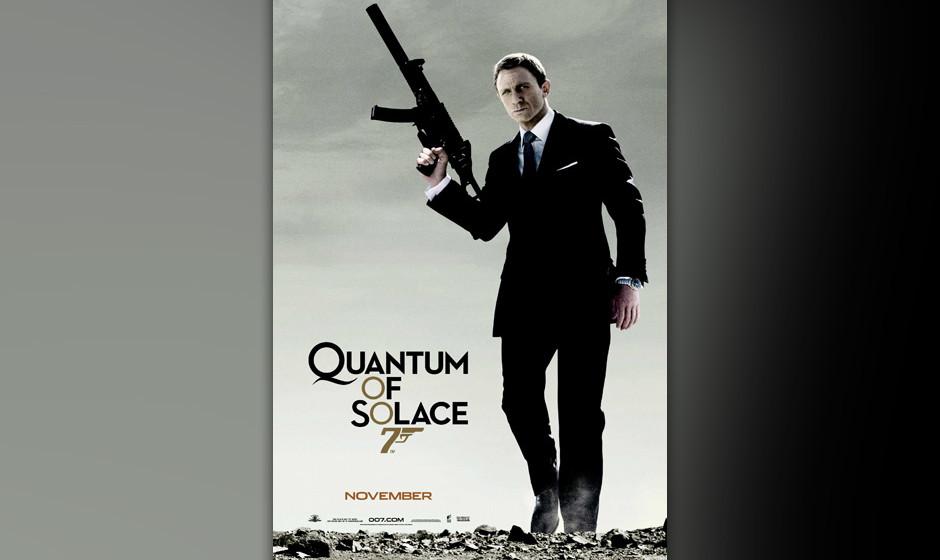 23. Alicia Keys und Jack White: 'Another Way To Die'. Ein 'Die' im Titel macht halt noch keinen guten Bond-Song. Jack Whites