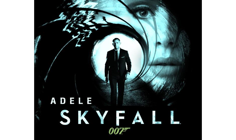 … Platz 17. Adele: 'Skyfall'. Es reicht eben nicht, eine 'Dame' mit 'Orchester' und 'einem Bond-Hook' zusammen zu werfen, u