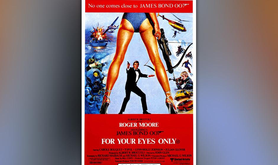 16. Sheena Easton: 'For Your Eyes Only'. 1981 verschuldete Bill Conti den ersten richtig schlechten Bond-Song. Was Sheena Eas
