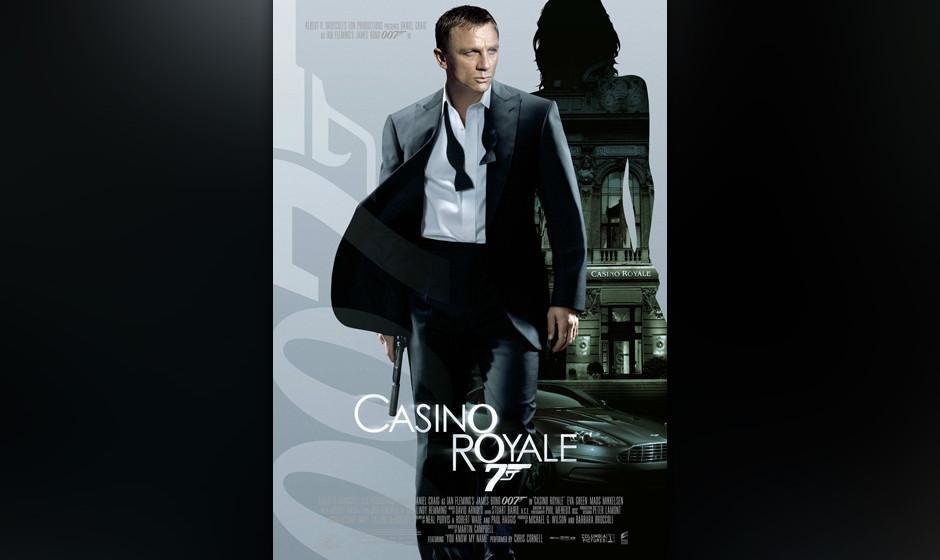 19. Chris Cornell: 'You Know My Name'. An sich eine gute Idee. Den Antrittbesuch von Daniel Craig mit 'Casino Royale' flankie