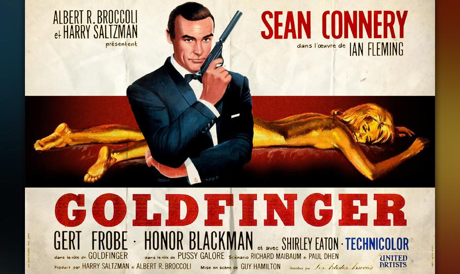 6. Shirley Bassey: 'Goldfinger'. Die eigentliche Geburtsstunde des –nach dem eher zurückhaltend romantischen Matt Monro